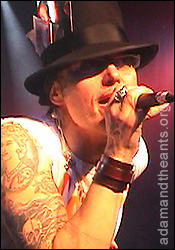Adam Ant at the Scala earlier this year