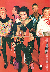 Terry Lee Miall - Adam & the Ants 1981